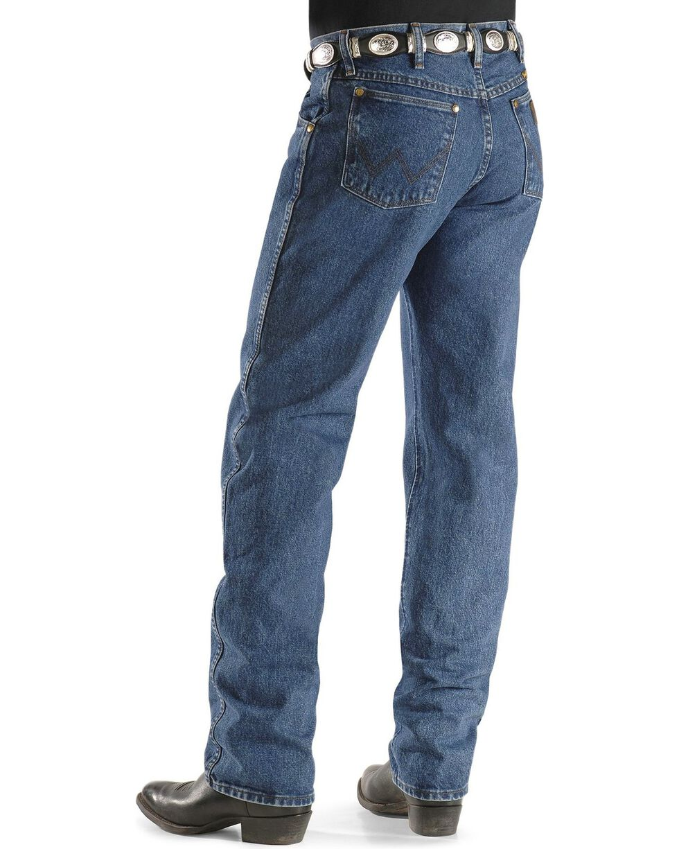 Wrangler Men's Premium Performance Regular Fit Jeans, Dark Stone, hi-res