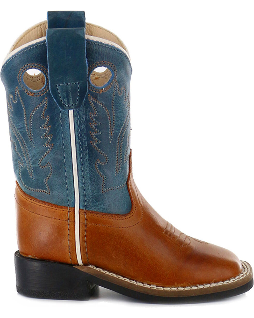 Cody James® Infant's Square Toe Western Boots, Brown, hi-res