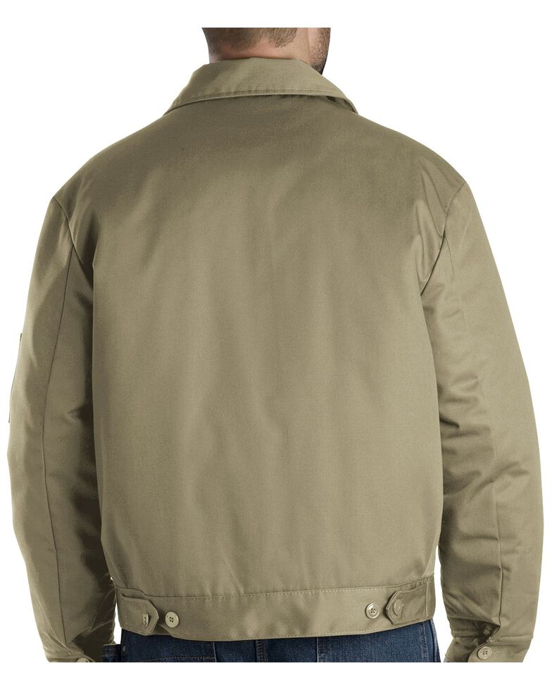 Dickies  Men's Insulated Eisenhower Work Jacket, Khaki, hi-res