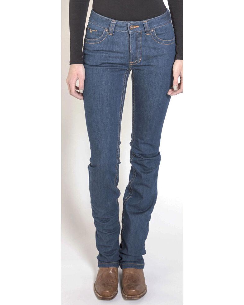 Kimes Ranch Women's Betty 17 Modest Bootcut Jeans, Indigo, hi-res