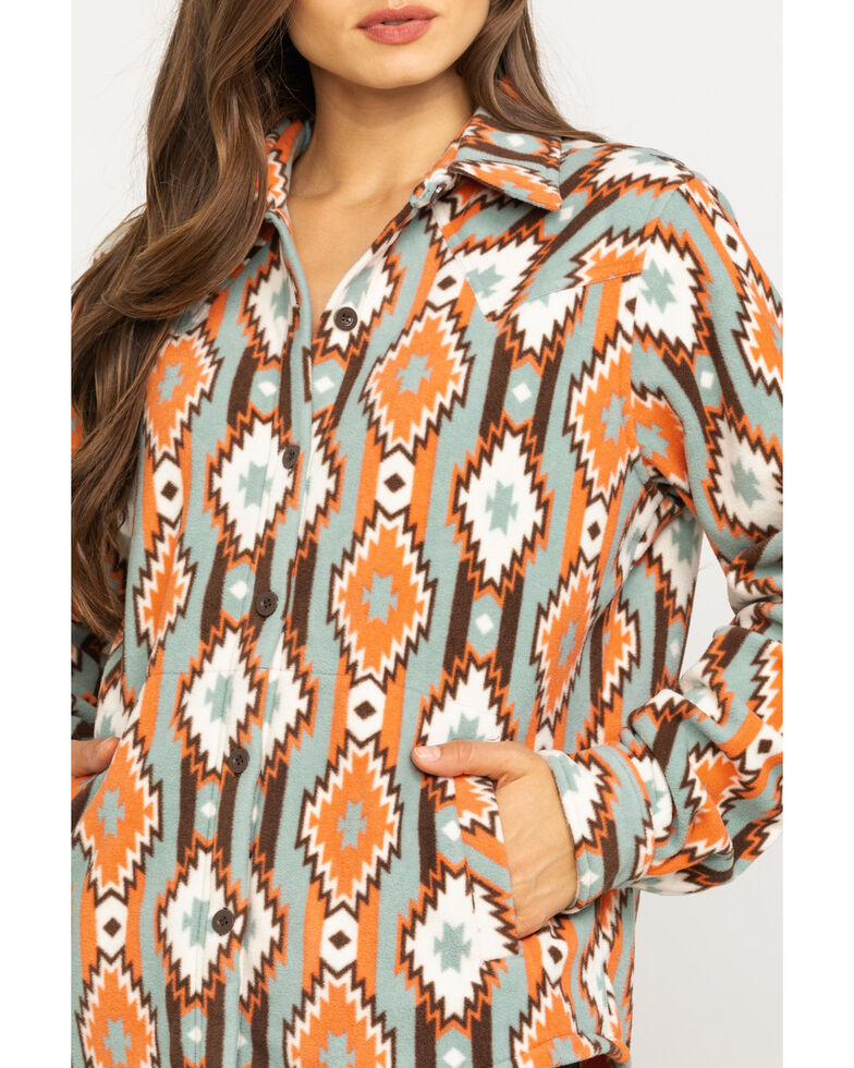 Outback Trading Co. Women's Tabitha Long Sleeve Western Shirt - Reg. & Plus, Multi, hi-res