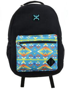 HOOey Black Aztec Black Recess Backpack , Black, hi-res