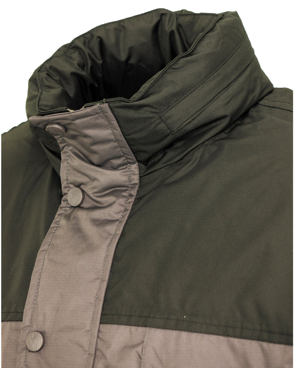 Outback Trading Co. Men's Charcoal Jericho Jacket , Charcoal, hi-res