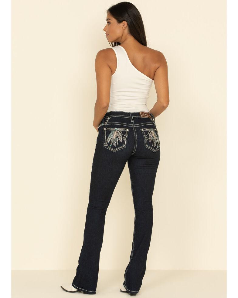 Miss Me Women's Light Movement Bootcut Jeans, Blue, hi-res