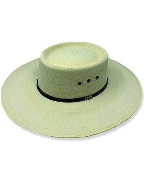 Atwood Men's Nevada Straw Cowboy Hat, Natural, hi-res
