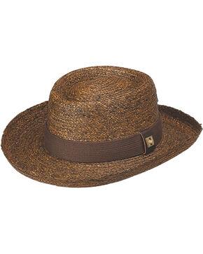 Peter Grimm Santiago Straw Hat, Brown, hi-res