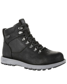 Rocky Men's Legacy 32 Waterproof Outdoor Boots - Soft Toe, Black, hi-res