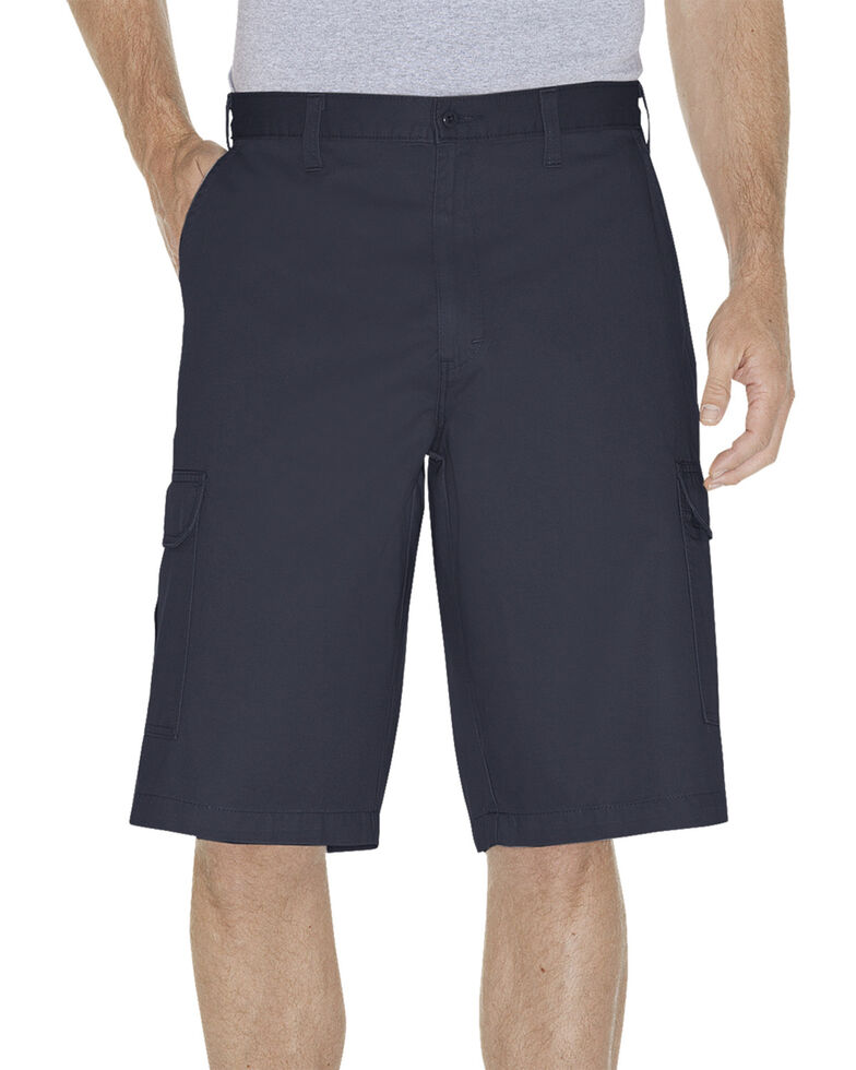 "Dickies 13"" Loose Fit Cargo Shorts, Navy, hi-res"