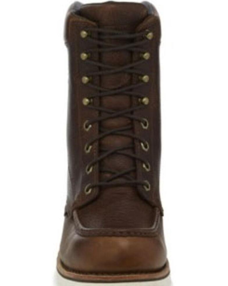 Chippewa Men's Edge Walker Waterproof Work Boots - Soft Toe, Brown, hi-res