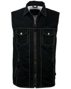 STS Ranchwear Men's Slate Arena Vest , Slate, hi-res