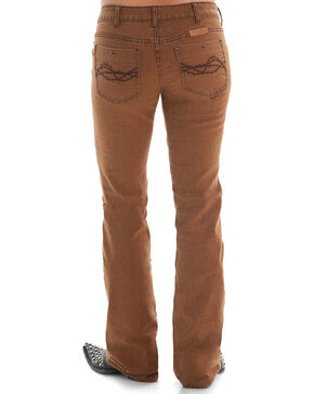 Cowgirl Tuff Women's Bonanza Boot Cut Jeans, Rust Copper, hi-res