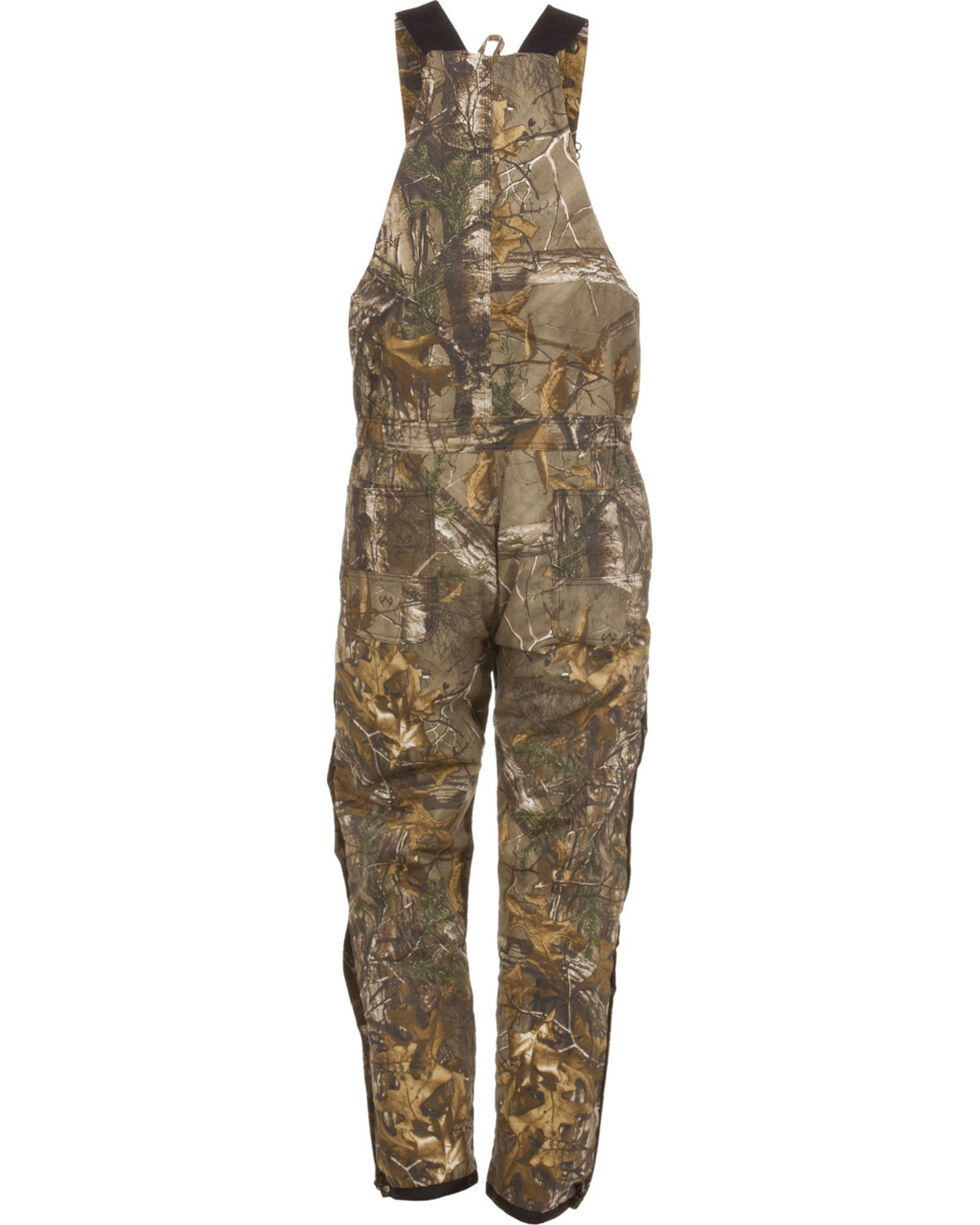 Berne Realtree Camo Coldfront Bib Overalls - Short Sizes, Camouflage, hi-res