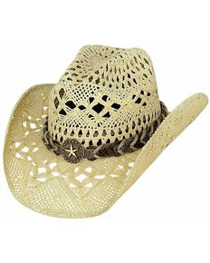 Bullhide Women's Naughty Girl Cowgirl Hat, Natural, hi-res