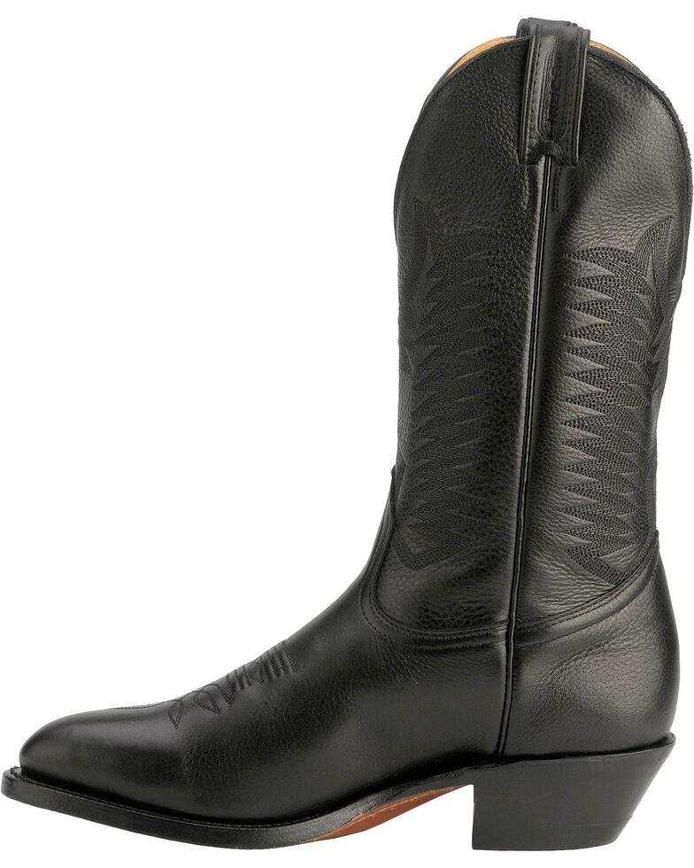 """Boulet Men's 13"""" Medium Cowboy Toe Western Boots, Black, hi-res"""