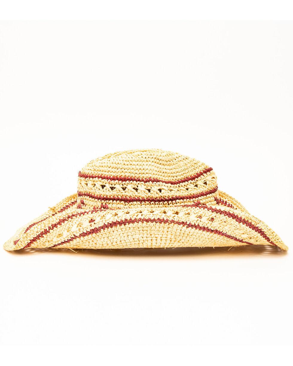San Diego Hat Co. Men's Crochet Arrow Hat, Natural, hi-res