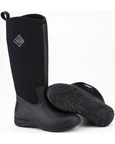 Muck Boots Black Arctic Adventure Boots, Black, hi-res