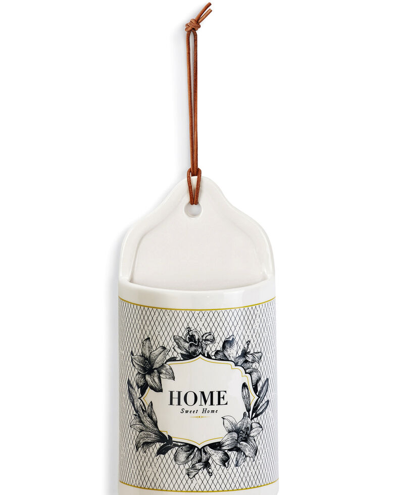 Demdaco Ceramic Home Sweet Home Crock, White, hi-res