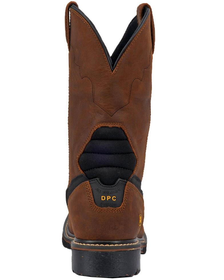 Dan Post Men's Lubbock Waterproof Western Work Boots - Steel Toe, Tan/copper, hi-res
