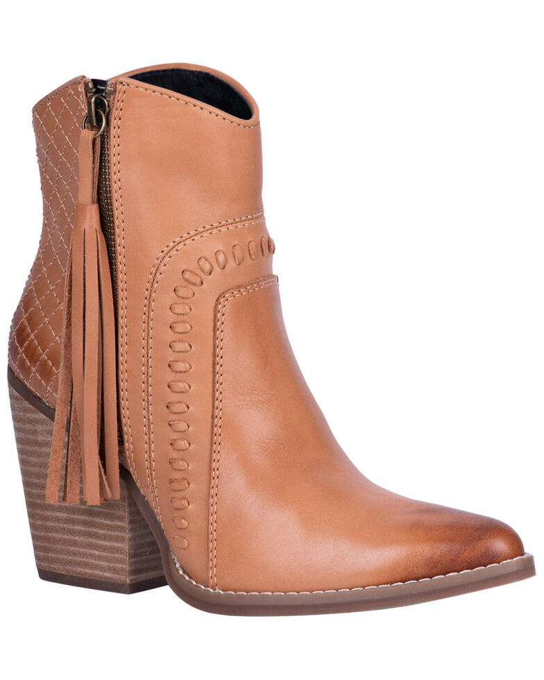 Dingo Women's Dream Big Fashion Booties - SnipToe, Tan, hi-res