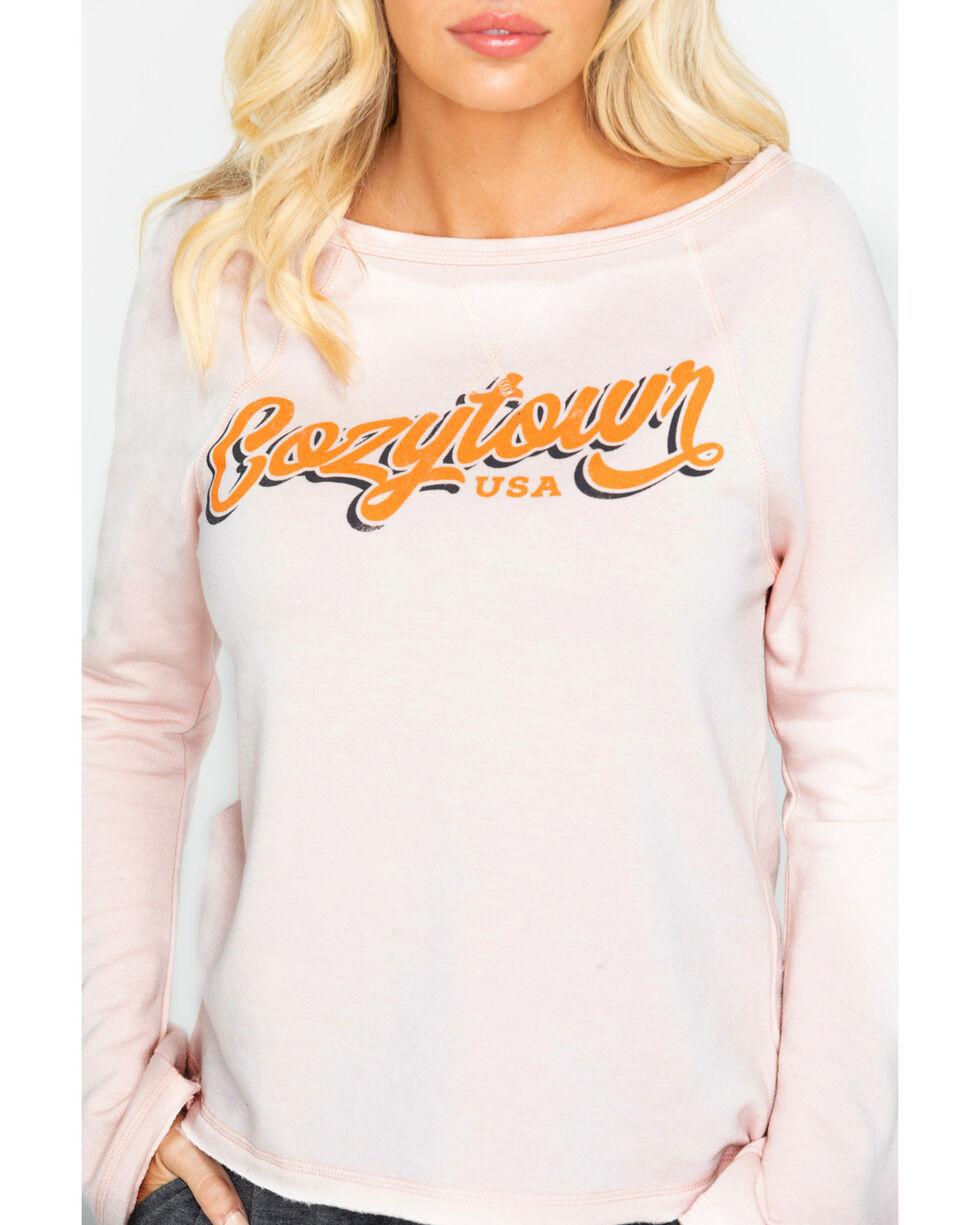 Idyllwind Women's Cozytown Favorite Fleece Top, Blush, hi-res