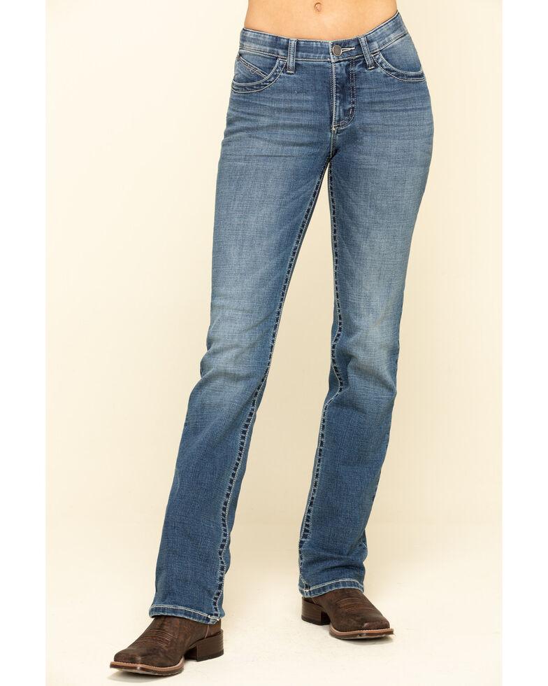 Wrangler Women's Lynn Willow Bootcut Jeans, Blue, hi-res