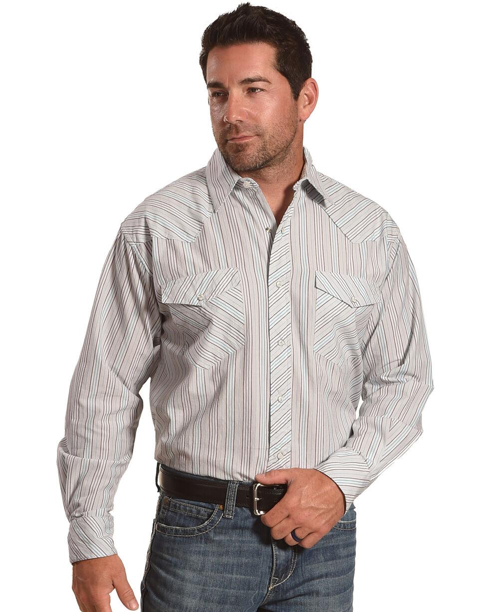 Resistol Double R Men's Henderson Long Sleeve Snap Shirt, , hi-res