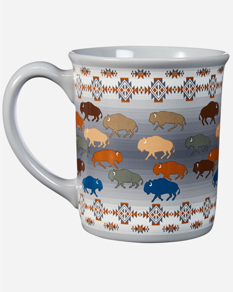 Pendleton Prairie Rush Hour Coffee Mug, Grey, hi-res