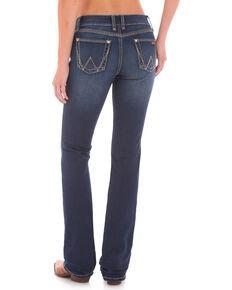 Wrangler Retro Women's Mid-Rise Boot Cut Jeans, Indigo, hi-res