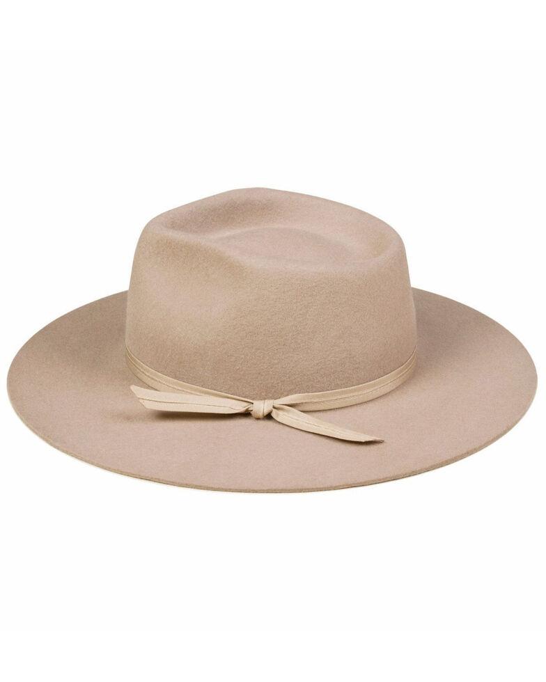 Lack Of Color Brown The Zulu Fedora Wool Hat , Brown, hi-res