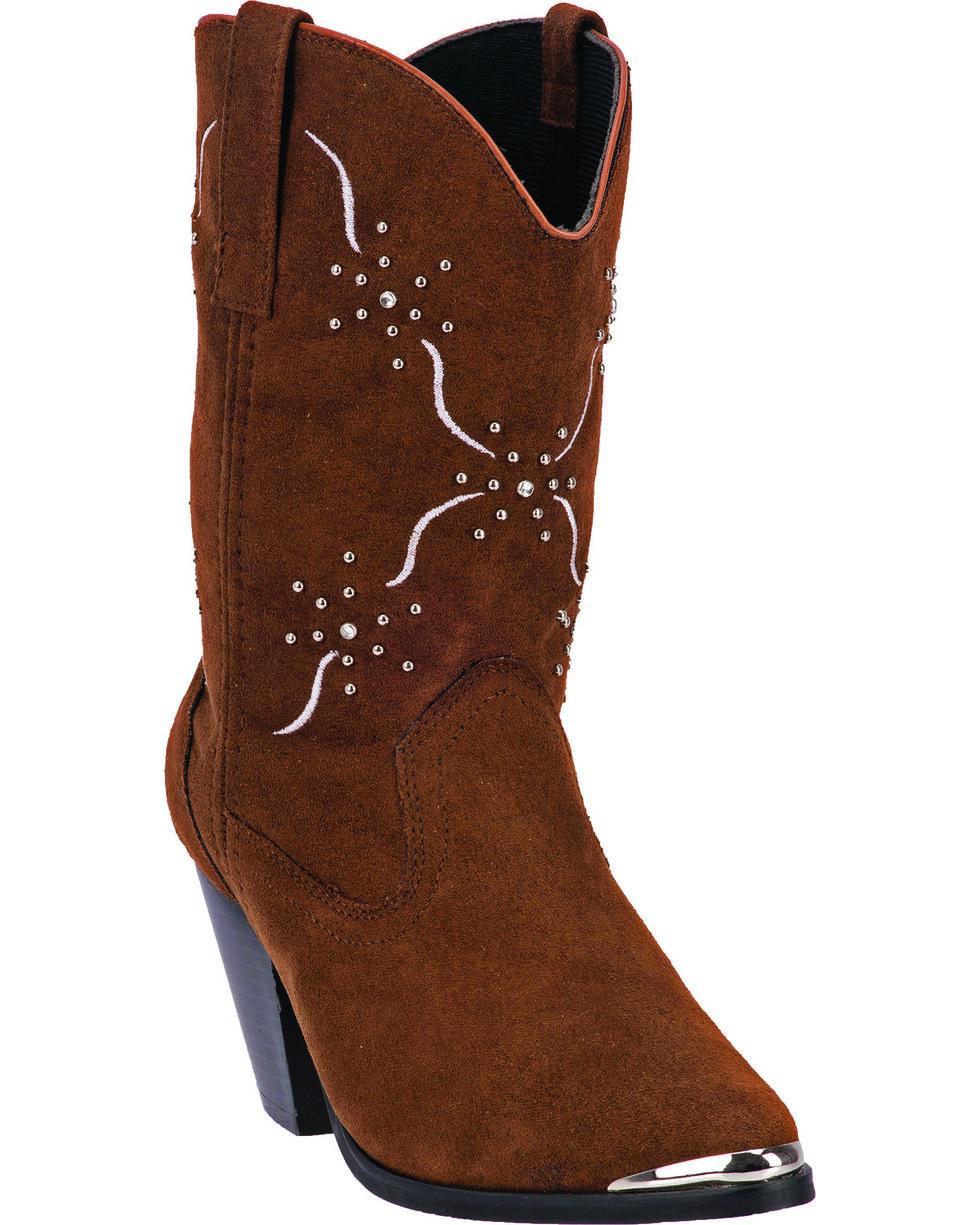 Dingo Women's Sonnet Fashion Boots, Chocolate, hi-res