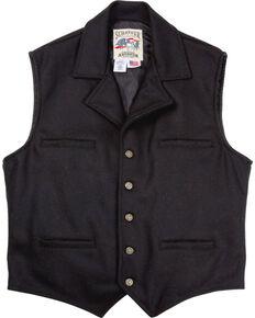 Schaefer Men's 805 Cattle Baron Vest, Black, hi-res