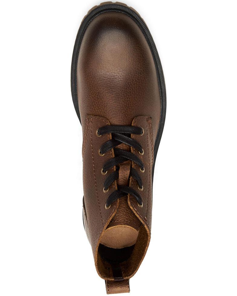 Frye Men's Ranger Chukka Work Boots - Soft Toe, Dark Brown, hi-res