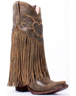 Junk Gypsy by Lane Women's Dreamer Western Boots, Brown, hi-res