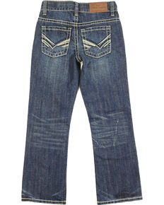 Cody James Boy's Boot Fit Denim, Dark Blue, hi-res