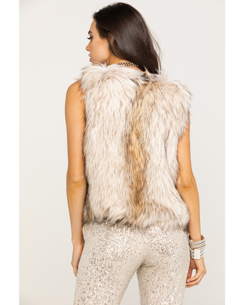 BB Dakota Women's Tan Bedrock City Vest, Natural, hi-res