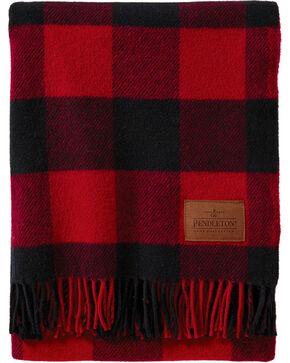 Pendleton Red Plaid Motor Robe Blanket , No Color, hi-res