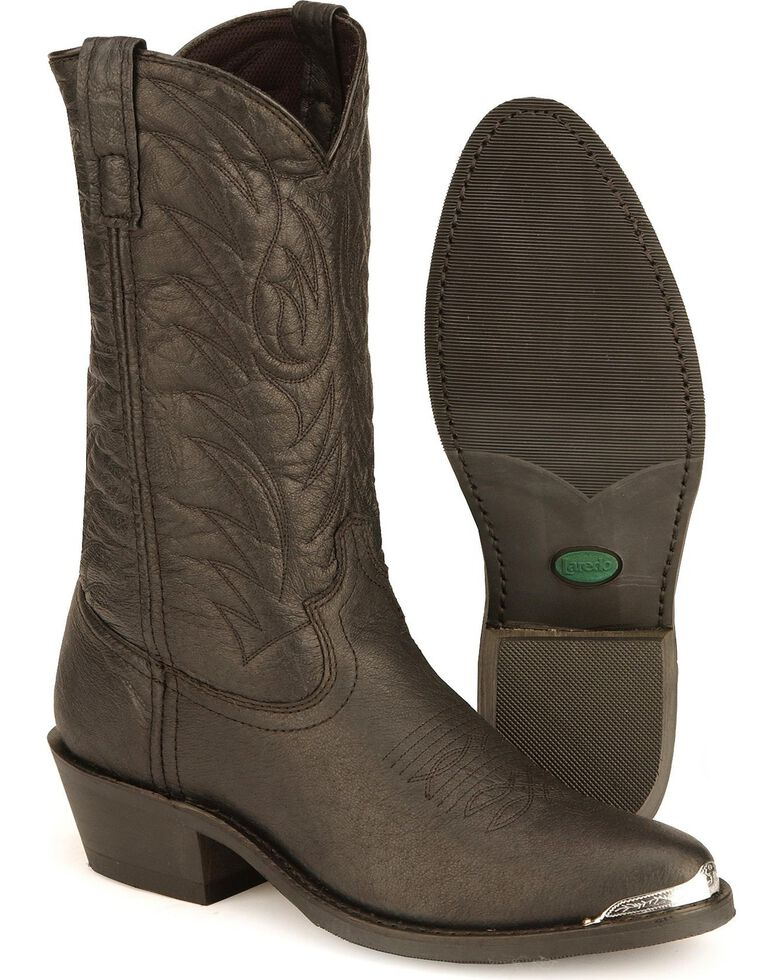 Laredo Men's East Bound Western Boots, Black, hi-res