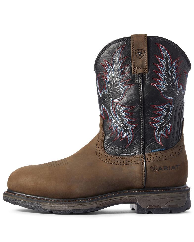 Ariat Men's Waterproof Workhog Western Work Boots - Composite Toe, , hi-res