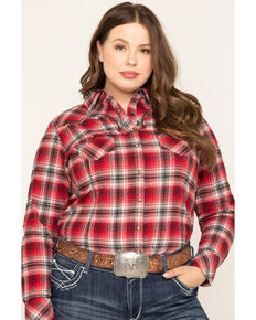Ariat Women's R.E.A.L. Spark Shirt - Plus, Multi, hi-res