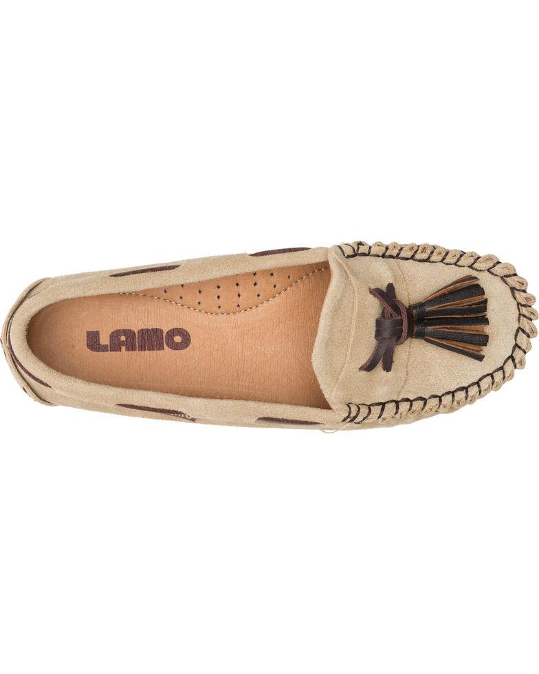 Lamo Women's Leah Tasseled Moccasins , Tan, hi-res