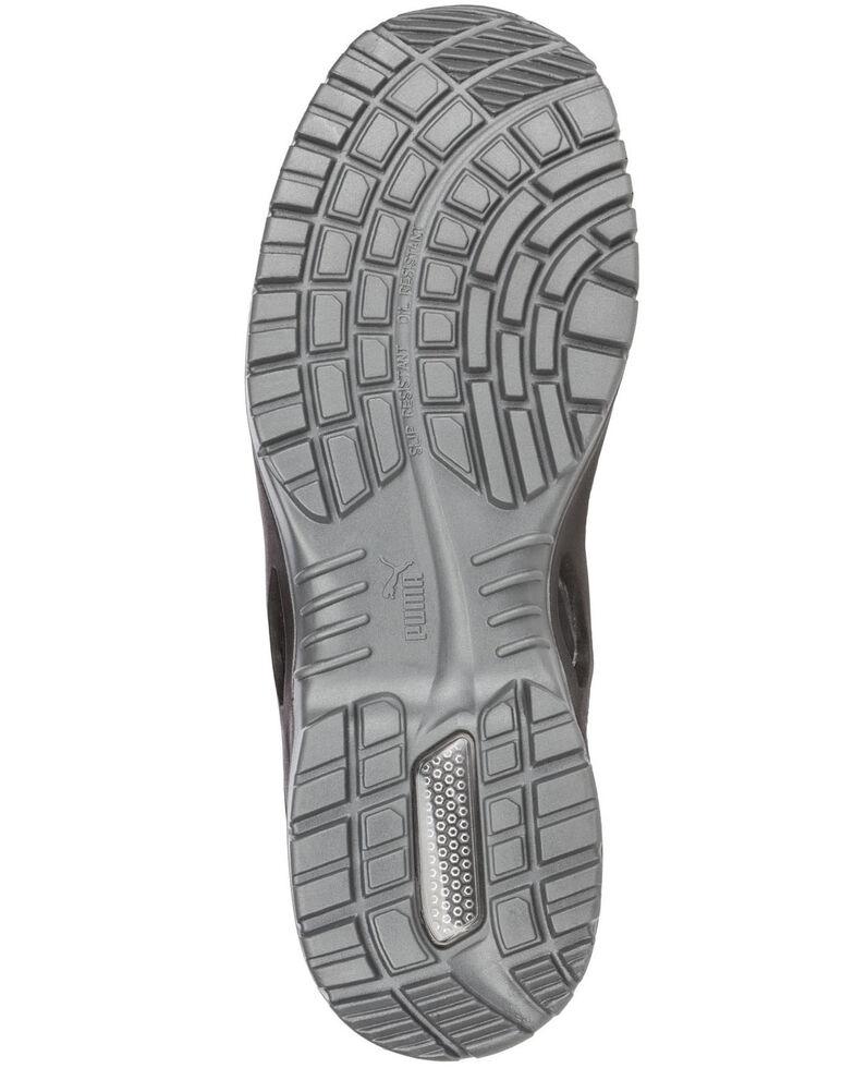Puma Women's Niobe Work Shoes - Steel Toe, Blue, hi-res