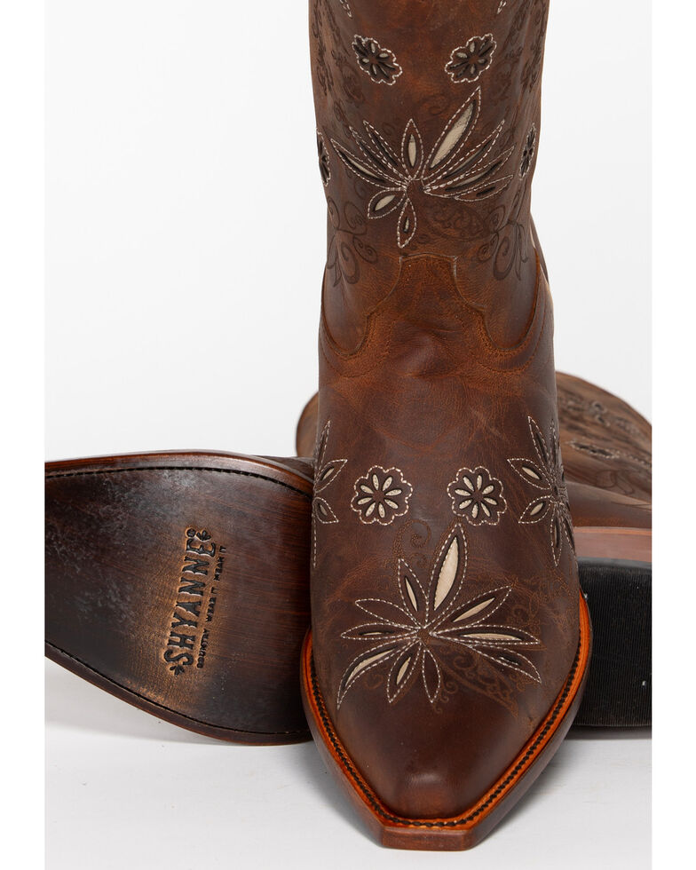 41f4fb22e Zoomed Image Shyanne® Women's Daisy Mae Western Boots, Distressed Brown,  hi-res