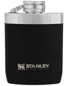 Stanley Black Hip Flask, Black, hi-res