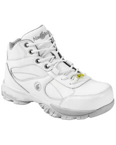 Nautilus Men's Steel Toe ESD Hiking Shoes, White, hi-res