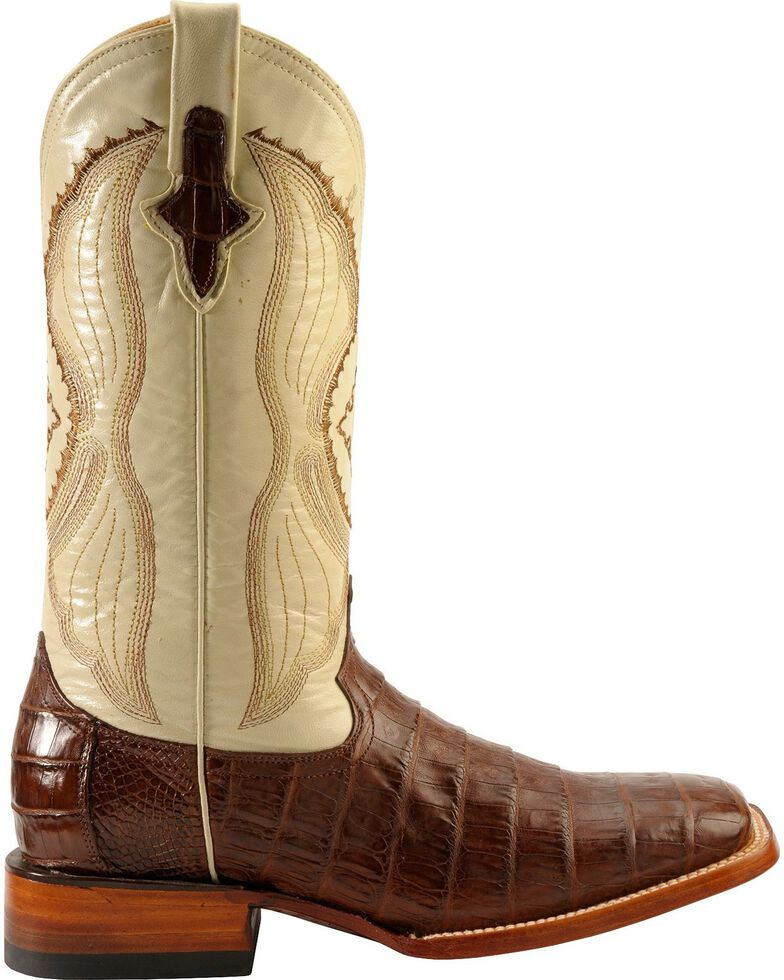 Ferrini Men S Belly Caiman Crocodile Exotic Western Boots