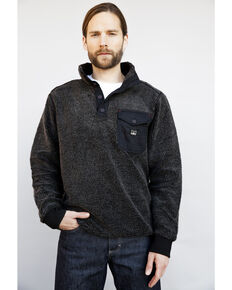 Kimes Ranch Men's Whiskey Pullover Sweater , Black, hi-res
