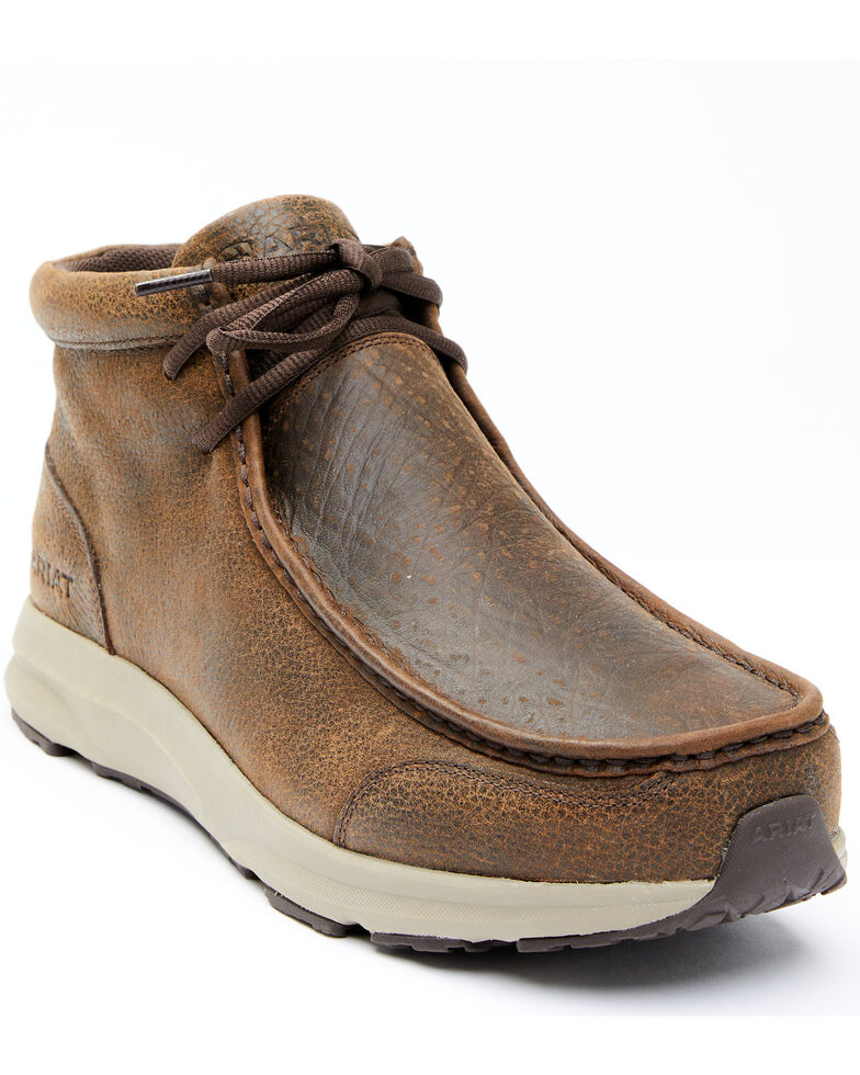 Ariat Men's Brody Casual Shoes - Moc Toe, Brown, hi-res