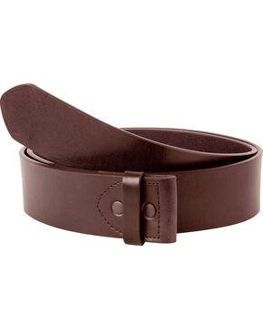 Mountain Khakis Men's MK Leather Belt (Belt Only) , Brown, hi-res