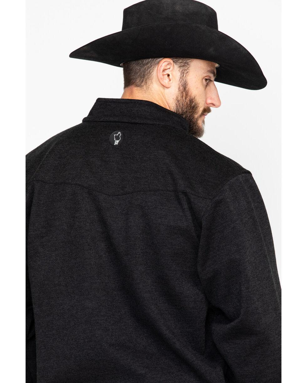 Outback Trading Men's Softshell Reid Snap Jacket , Black, hi-res