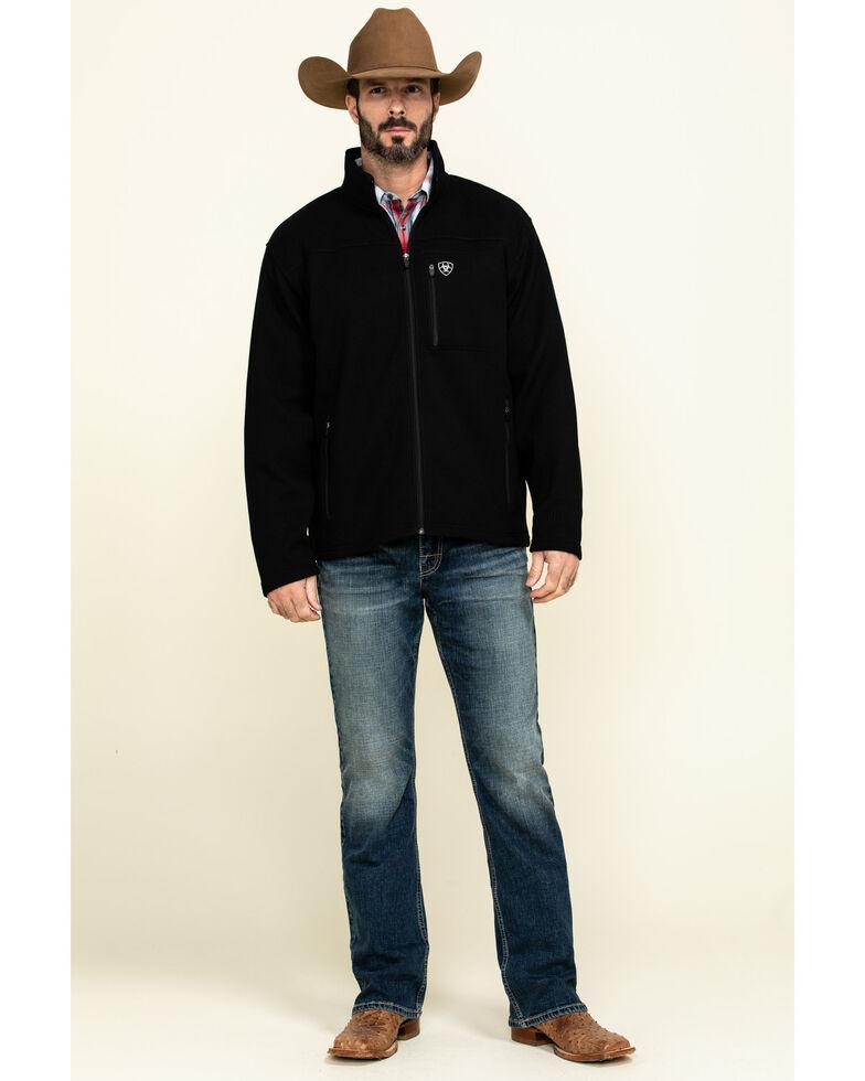 Ariat Men's Duratek Fleece Jacket , Black, hi-res